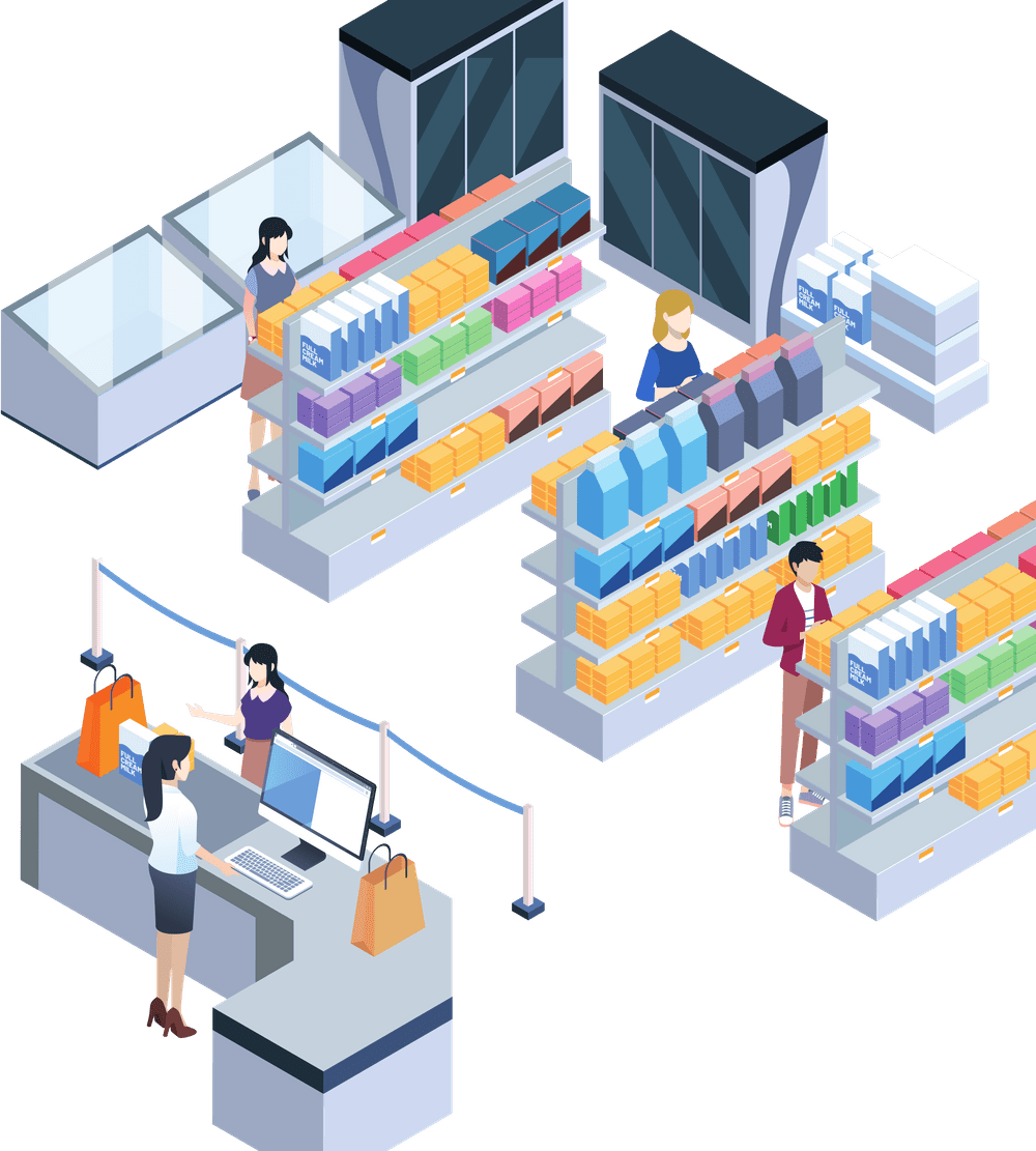 Shop Retail People Store Shopping